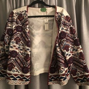 Brand New Anthropologie Blazer Size Large